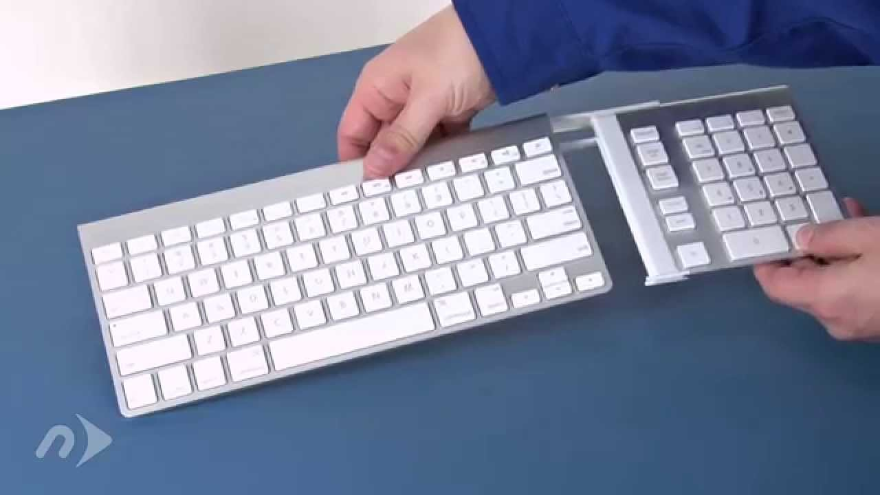 0cd952e2685 How to Set Up the NewerTech Wireless Aluminum Keypad - YouTube