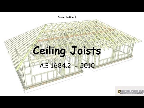 9 Ceiling Joists Youtube