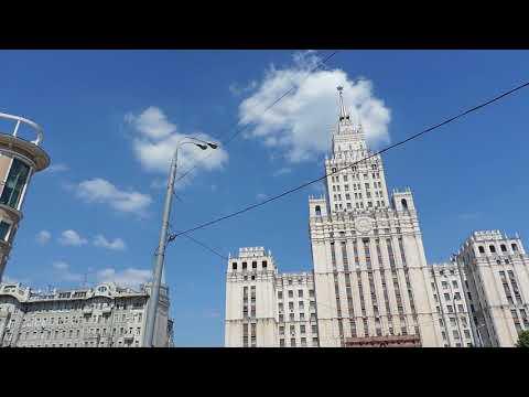 Москва Окрестности метро Красные Ворота 23 мая 2014