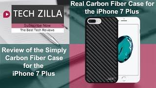 Ultimate Iphone 7 Plus Carbon Fiber Case The Simply Carbon Fiber Snap On Case Youtube