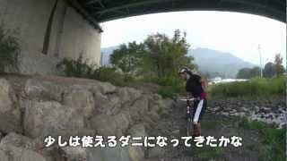 20121030ダニエル少し上手くなる・徳島県三好郡東みよし町