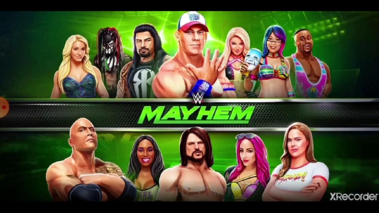 WWE-mayhem loot case opening