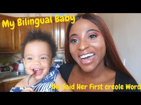 Baby Says Her First Word in Haitian Creole || Following Michael & Tallie