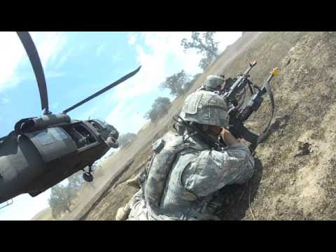 California Army National Guard 184th Infantry conduct combat lanes training
