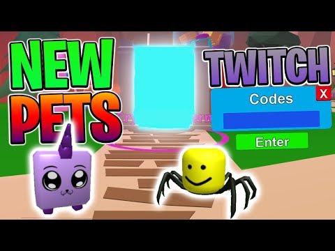 GETTING THE NEW CRYSTALS PETS IN ROBLOX MINING SIMULATOR (TWITCH CODES)