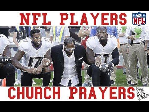 NFL Players & Church Prayers