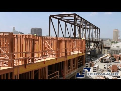 "One Santa Fe - Project Update ""Wood Frame Construction Phase - Residential"""