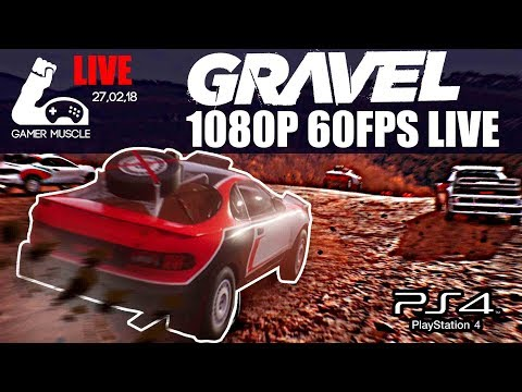 GRAVEL - FIRST IMPRESSIONS - 1080P 60FPS LIVE - GAMER MUSCLE VIDEOS - 동영상
