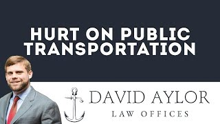 Hurt on Public Transportation | Charleston SC Auto Accident Lawyer