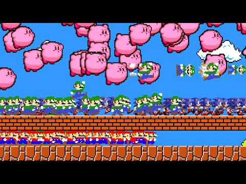 The 100 Mario Luigi Kirby Sonic Collection