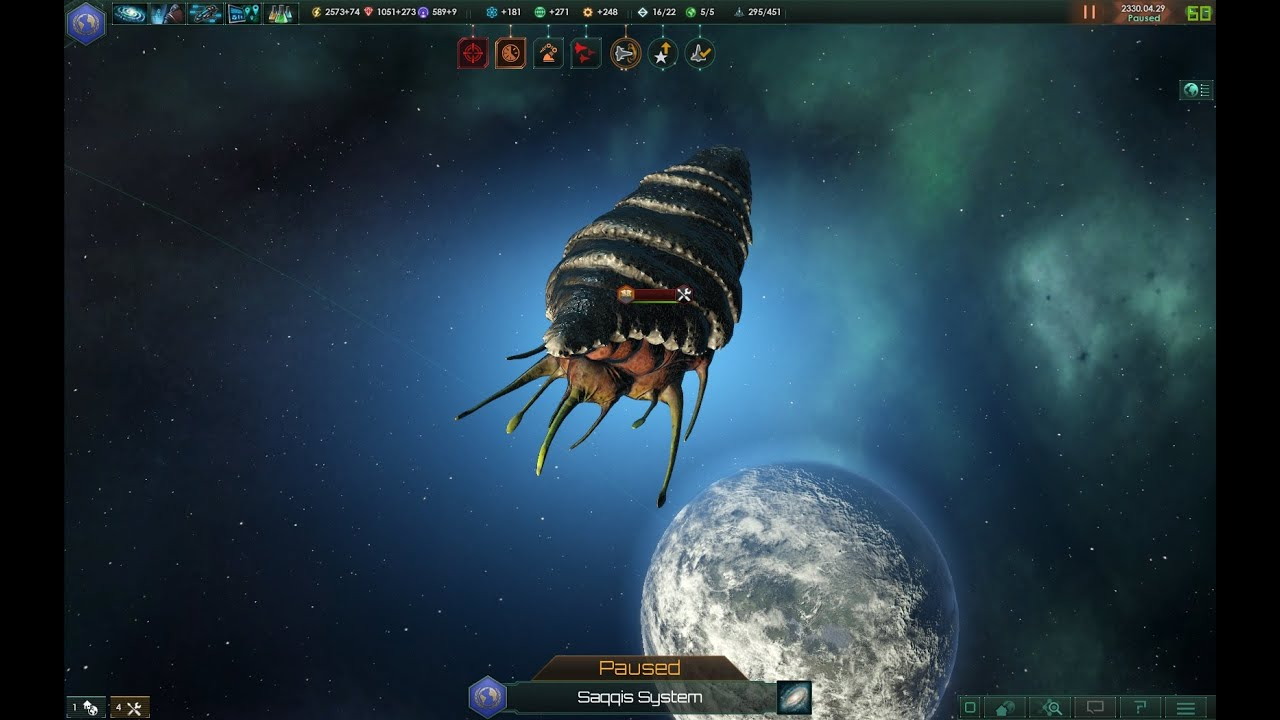 Coming Storm - The Prethoryn Swarm situation event (Stellaris)