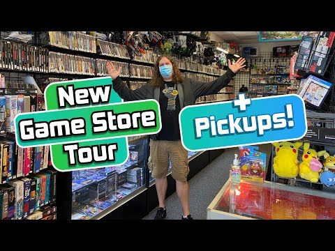 New Seattle area GAME STORE Tour + PICKUPS!