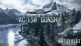 Battlefield 3: Armored Kill - Gunship Gameplay [HD]
