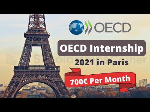 OECD Internship in Paris, France | International Internship | 700 Euros/Month For Living Expense