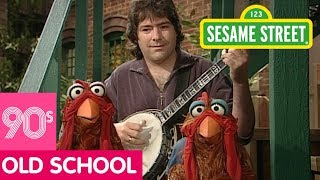 Sesame Street: Béla Fleck Plays Concerto For Banjo and Two Chickens