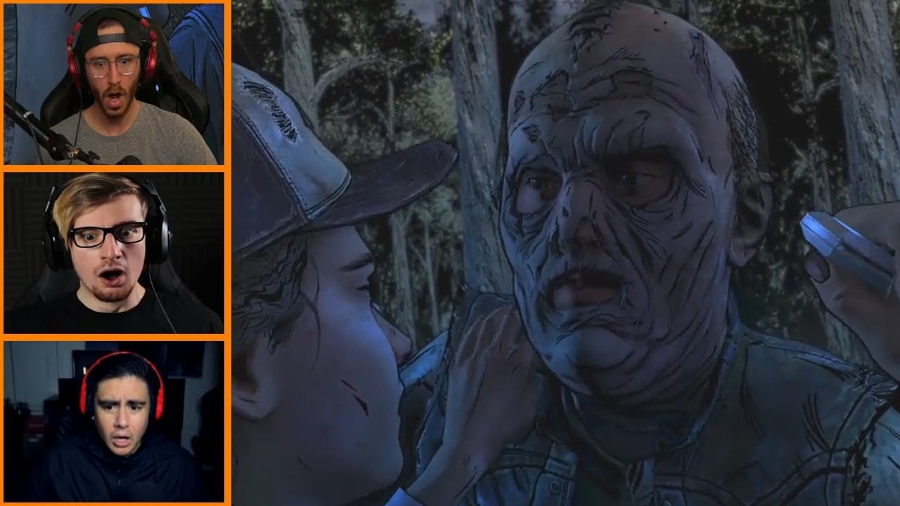 Let's Players Reaction To Getting Rescued By James | The Walking Dead: The  Final Season