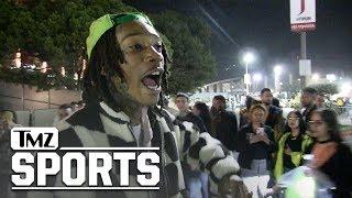 Wiz Khalifa Promises Music Video and 100 Remixes of 'I'll Beat Yo Ass!' | TMZ Sports