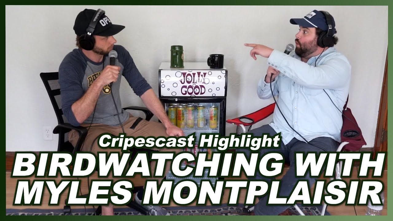 Birdwatching with Myles Montplaisir - Cripescast Highlight