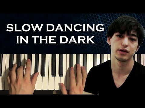 HOW TO PLAY - Joji - Slow Dancing In The Dark (Piano Tutorial Lesson)