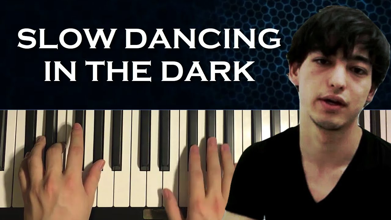 How To Play Joji Slow Dancing In The Dark Piano Tutorial Lesson