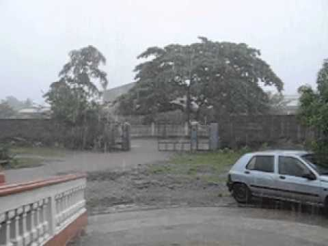 Rainy Season in Moroni, Comoros