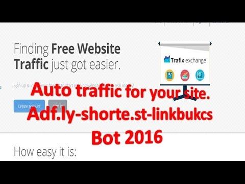 AUTO SURF, ADF LY, LINKBUCKS, SHORTE ST BOT 2016