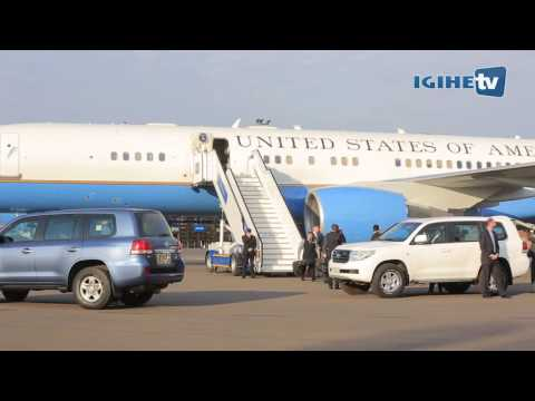John Kerry arrived in Rwanda for Montreal Protocol Meeting (13/10/2016)