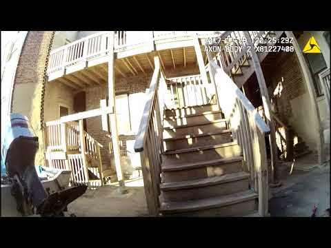 GRAPHIC: Body cam shows police shooting after hot pursuit