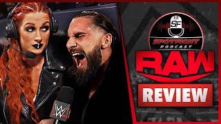 WWE Raw Draft Becky Lynch GEHÖRT Raw Ist Goldberg jetzt ein Unmensch Review 04 10 21