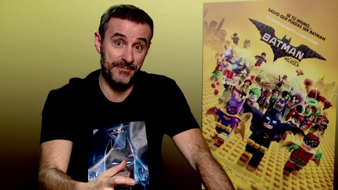 Resultado de imagen de batman lego  the movie claudio serrano