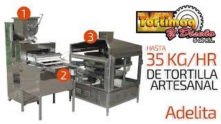 Maquina para hacer tortilla a mano, tortilla artesanal - Máquina Adelita | tortimaq.com.mx