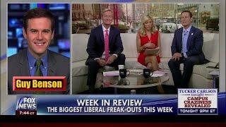 The Biggest Liberal Freak-Outs of the Week - Guy Benson