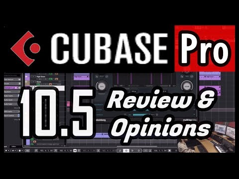 15+ New Features & Improvements in Cubase Pro 10.5
