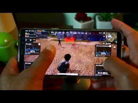 PUBG on Android: Galaxy Note 8