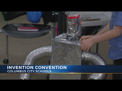 Columbus students participate in 'Invention Convention'