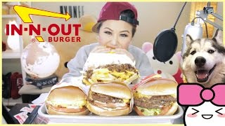 IN-N-OUT SECRET MENU ft. XENO the HUSKY | MUKBANG