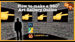 How to make a Free Virtual Art Gallery using Lapentor.com screenshot 4