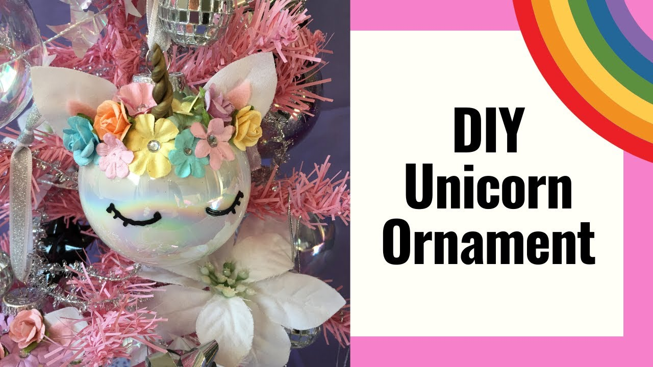 DIY Unicorn Ornament