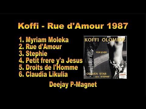 Koffi Olomide - Rue D'amour 1987 Album | Congo Nostalgie
