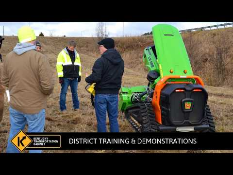 Green Climber Equipment Introduction for The Kentucky Transportation Cabinet