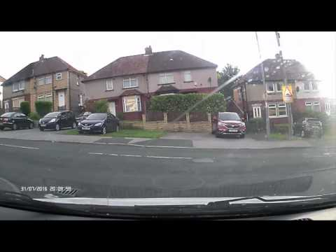 Bad driving in Bradford, West Yorkshire. Part 1