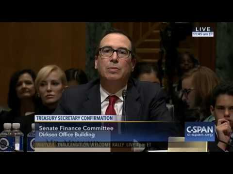 Orrin Hatch Exposes Democrats' Hypocrisy in Mnuchin Hearing