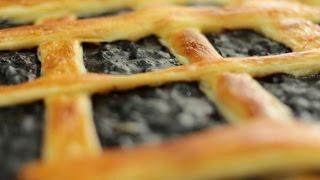 Рецепт черничного пирога