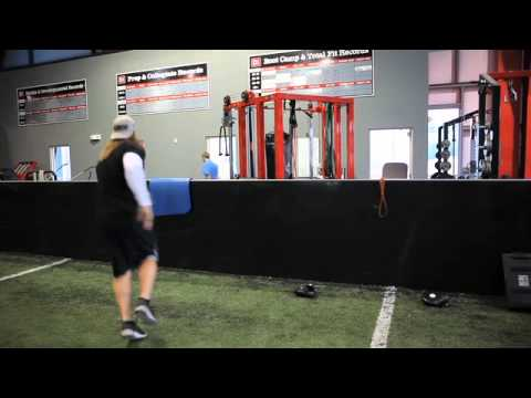 AJ. Hawk - Linebacker Hand Skills