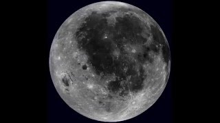 Fascinante video de rotación de la Luna