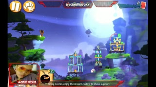 Watch me play Angry Birds 2 via Omlet Arcade!