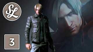 Resident Evil 6 Gameplay Walkthrough Part 3 - Leon Campaign Chapter 1 (PS4)