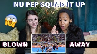 NU Pep Squad - 2019 UAAP CDC [REACTION] l FIRST TIME REACTING