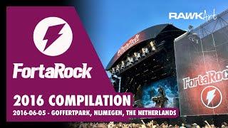 FortaRock 2016 Compilation (Amon Amarth, Megadeth, BabyMetal, King Diamond a.o.)