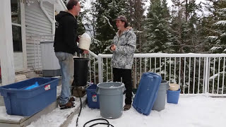 Bubble making session with Ron and Buddy3